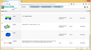 webFalcon-ProjectList